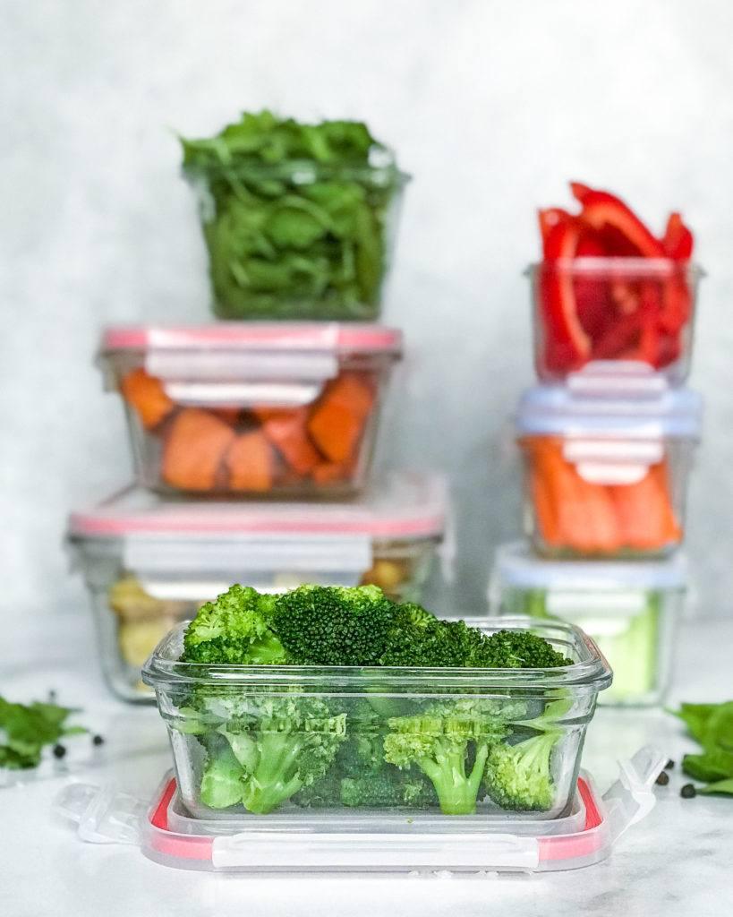 foodprep vinter grøntsager i bokse