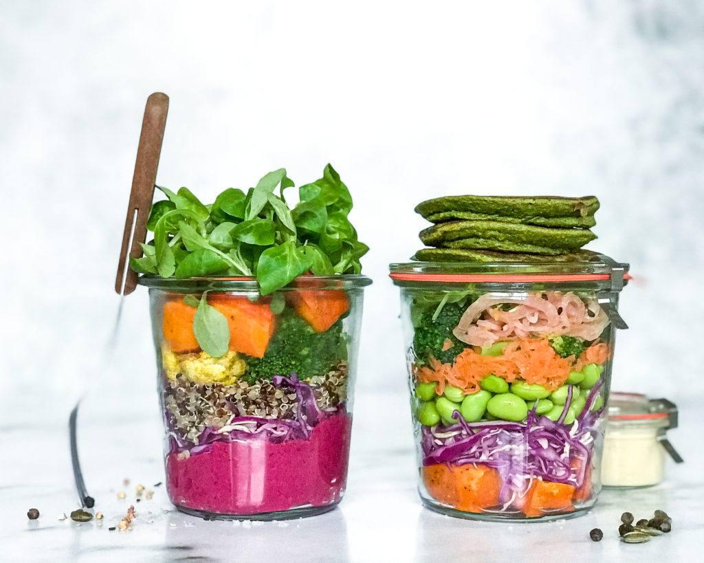 foodprep vinter opskrift salat i glas