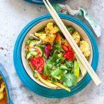 vegansk massaman curry
