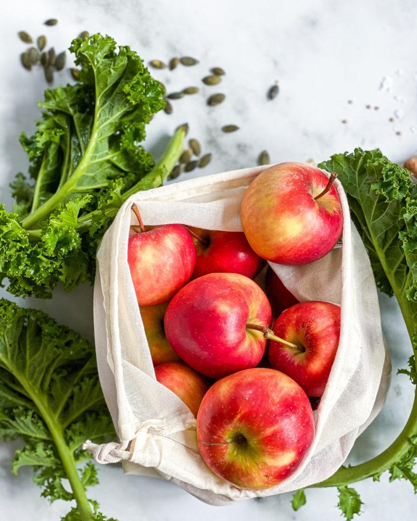 æbler i pose