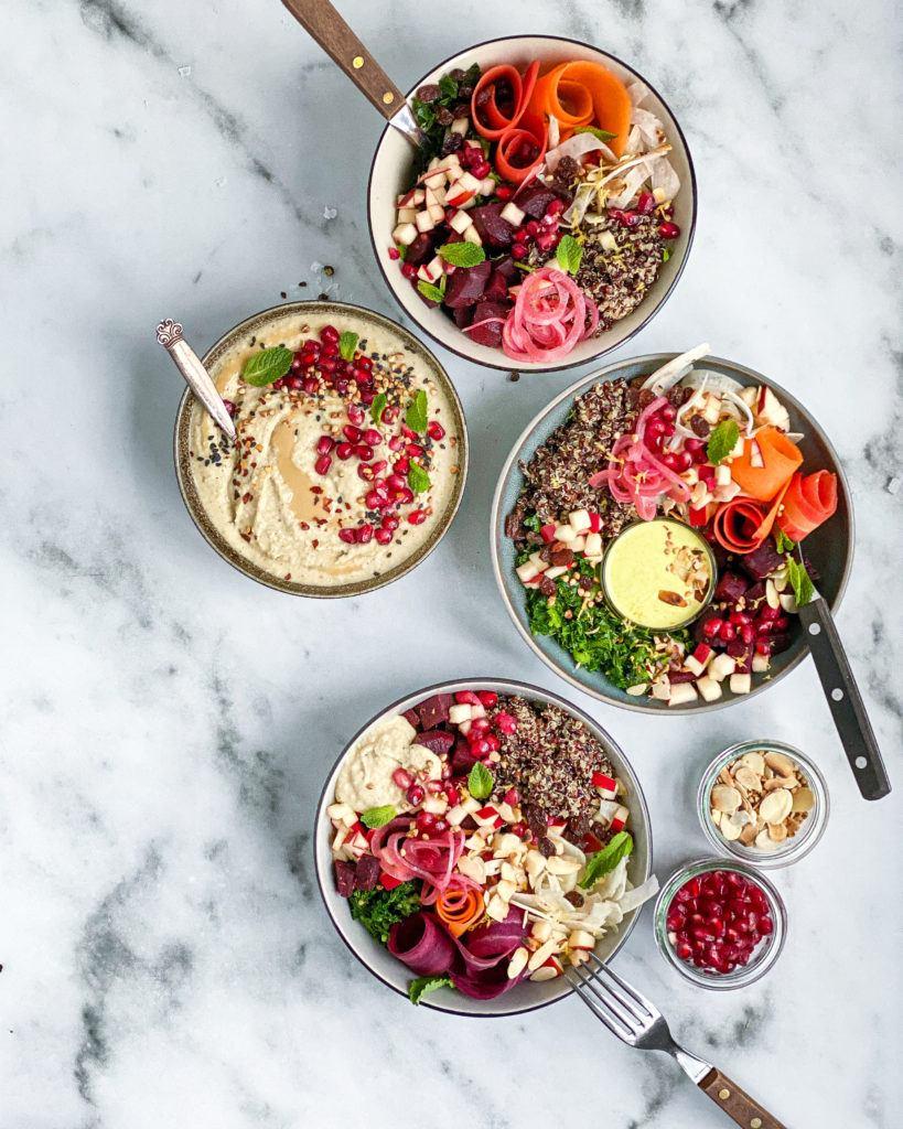 butterbean hummus og bowls