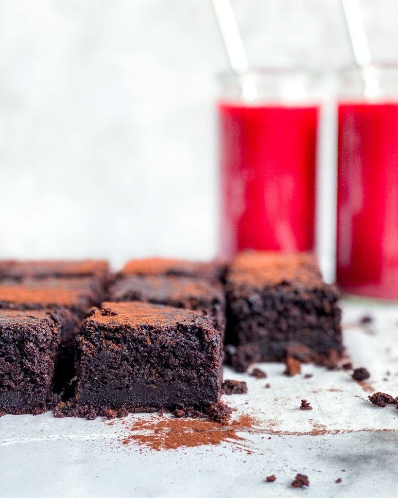 vegansk chokoladekage