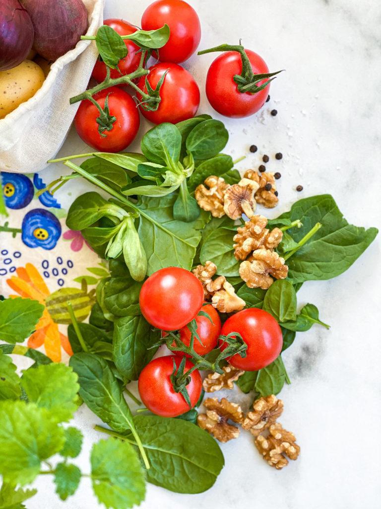 april sæson grøntsager spinat