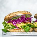 vegansk æggesalat