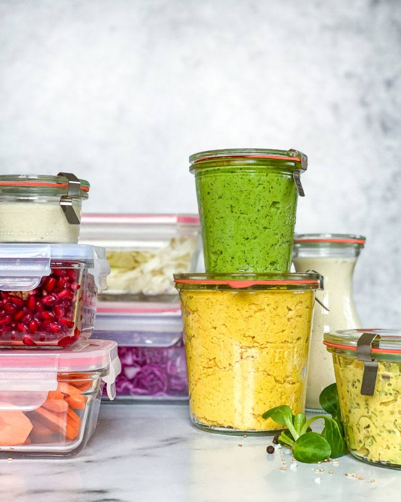 vegansk æggesalat food prep