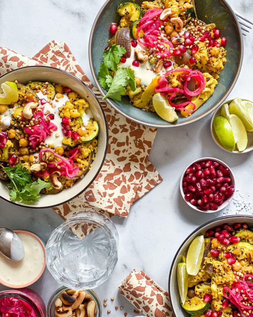 vegansk one pot quinoa