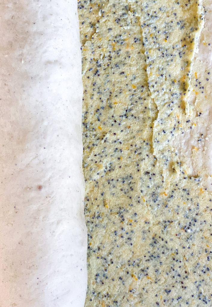Veganske snegle med marcipanremonce og lemoncurd 1