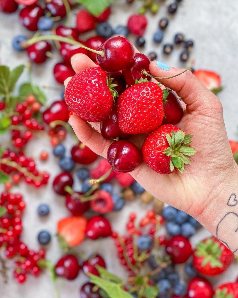 juli sæson bær