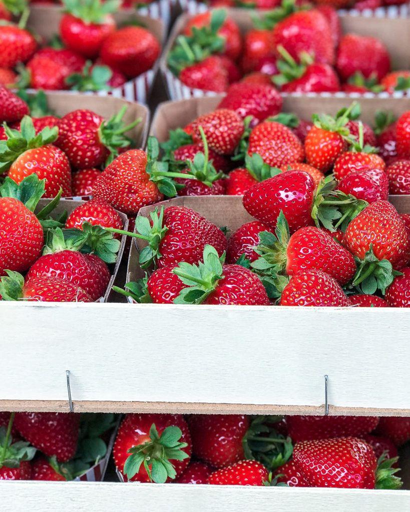 juli sæson jordbær