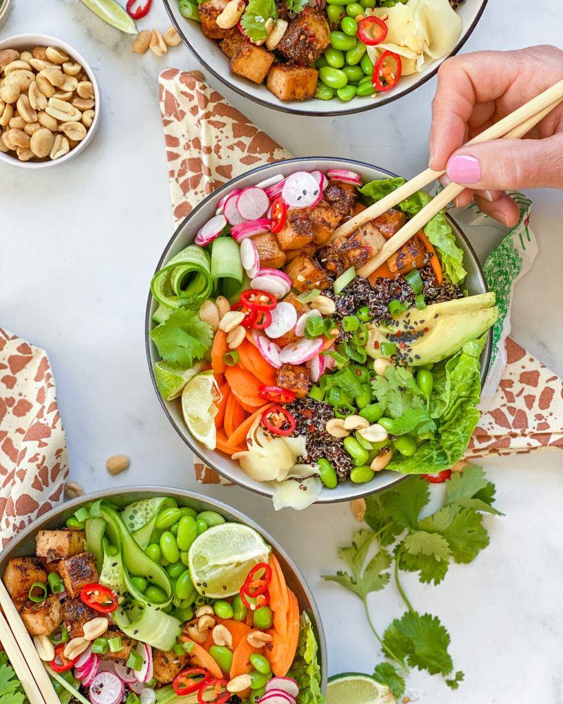 citrongræs tofu bowl