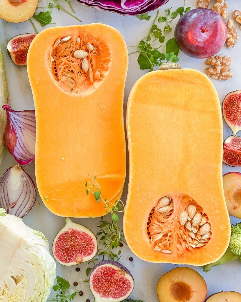 oktober sæson råvarer butternut squash