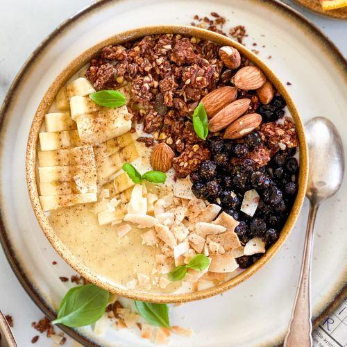chokolade granola vegansk
