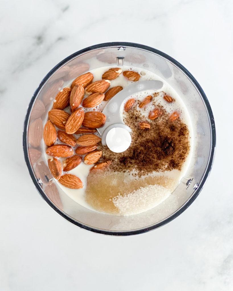 vegansk semlor mandelcreme fyld
