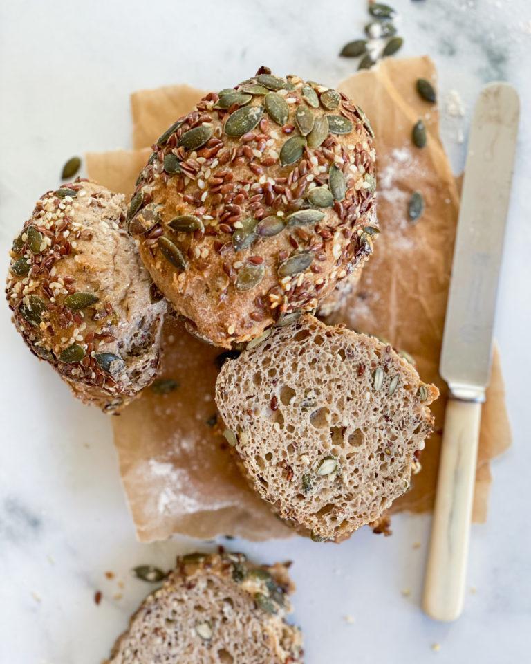 glutenfri grovboller