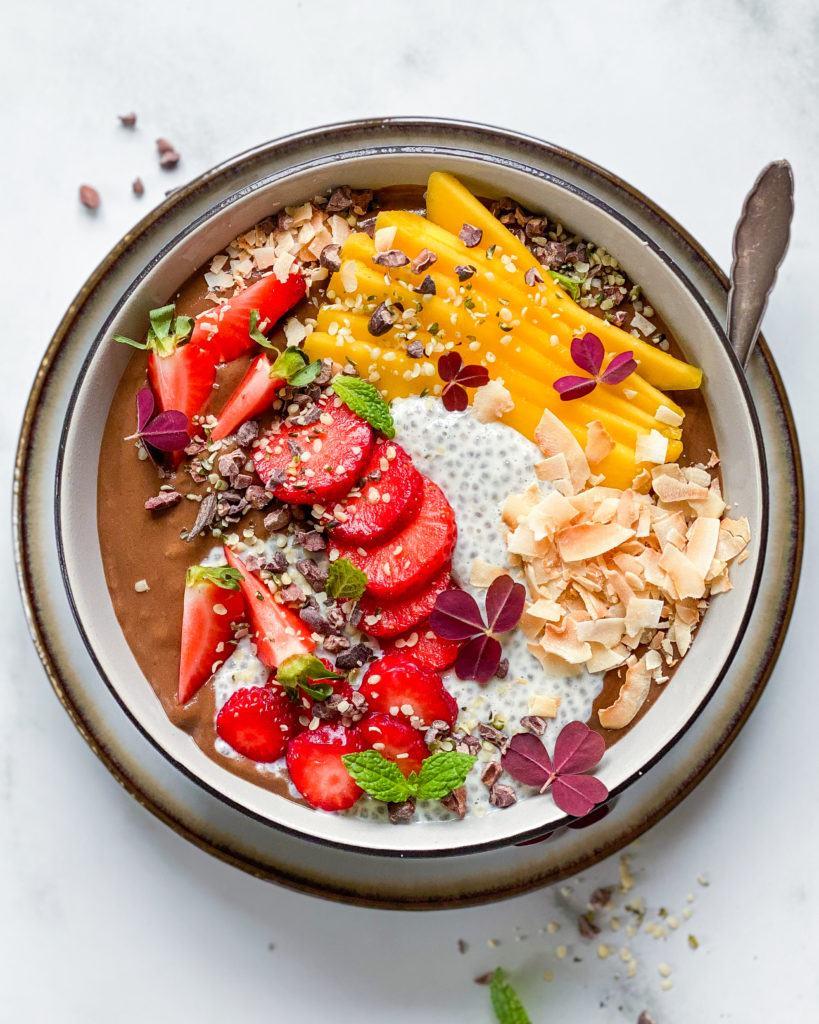 sund smoothiebowl uden banan