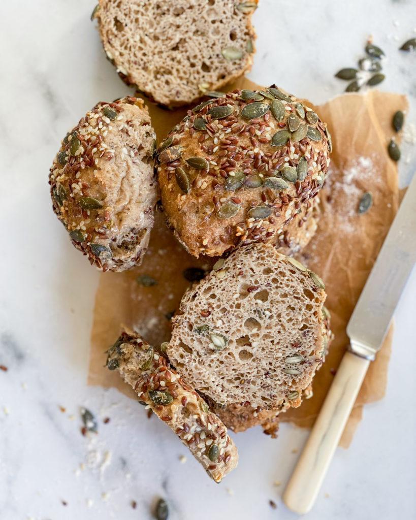 veganske glutenfri grovboller
