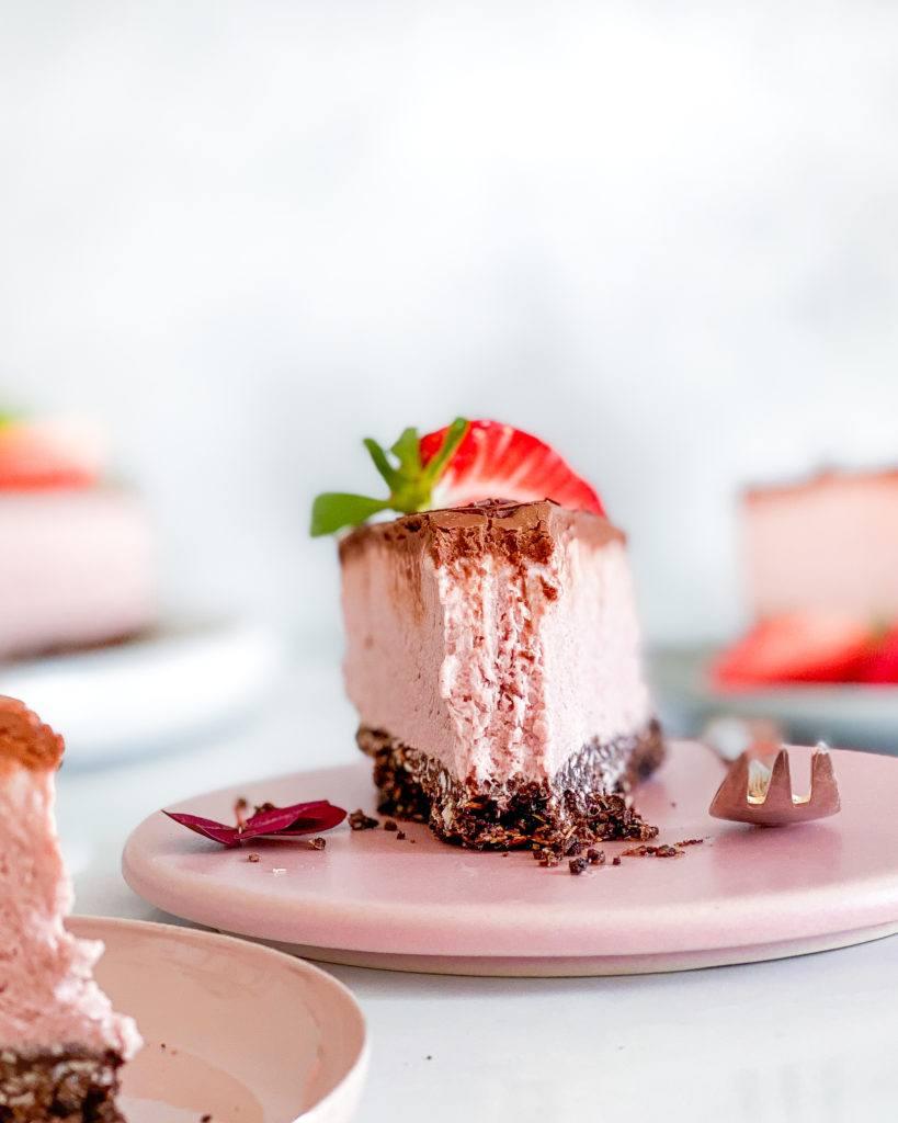 vegansk oreo cheesecake