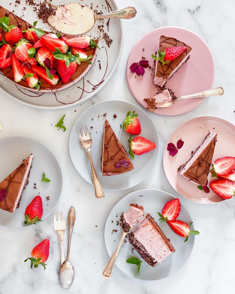 no bake vegansk oreo cheesecake
