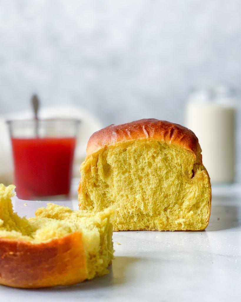 vegansk brioche brød