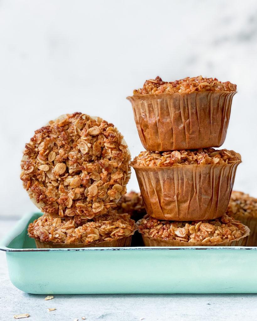 veganske glutenfri græskarmuffins
