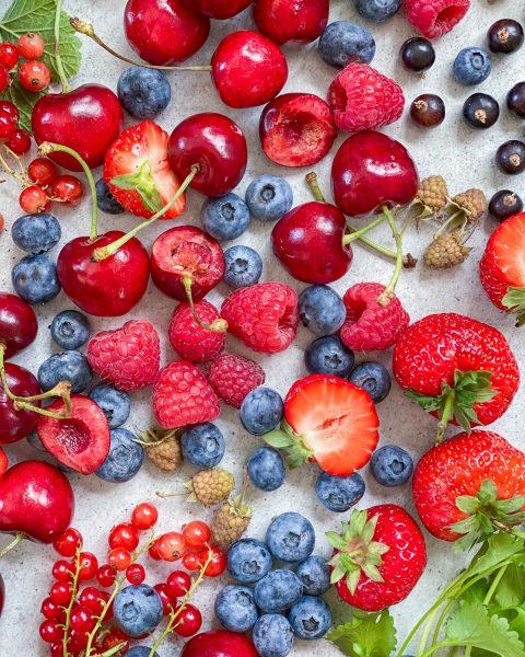 Juli-sæson-bær