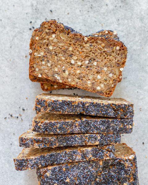 glutenfrit rugbrød med sød kartoffel
