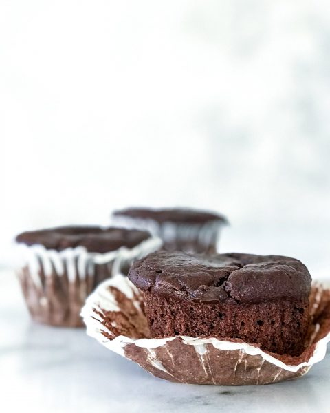 sunde banan muffins med chokolade